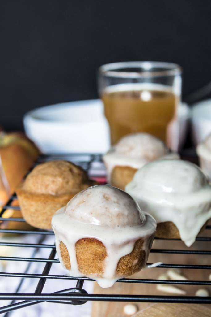 Apple cider doughnut muffins are a perfect little easy breakfast treat.
