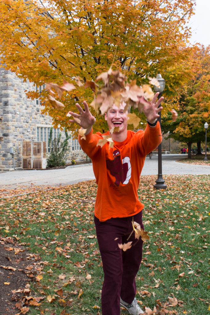 I love spending time in the mountains in the fall and this trip to Virginia Tech with my family was nothing short of wonderful!