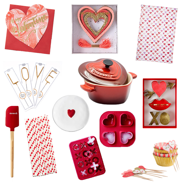 valentine's day gift guide for a sweetheart party
