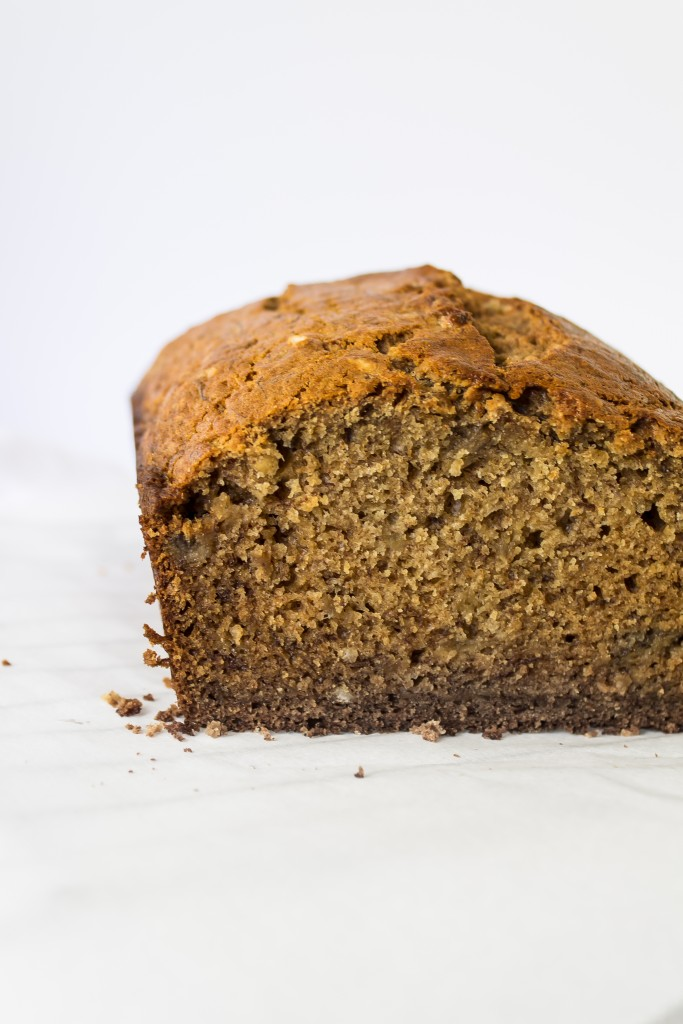 Brown butter banana bread makes for the best brunch!