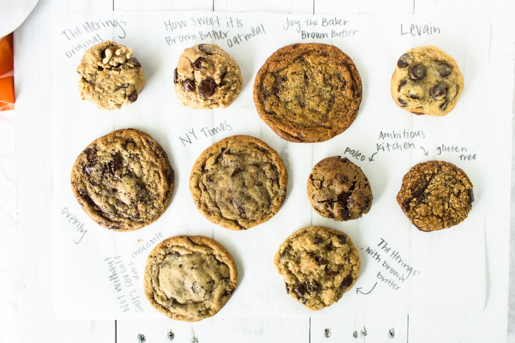 Chocolate chip cookie March madness