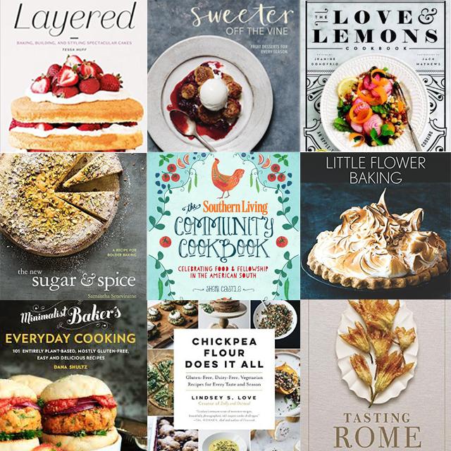 spring cookbooks