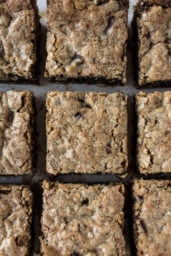 Oatmeal Dark Chocolate Fig Bars | Pass the Cookies