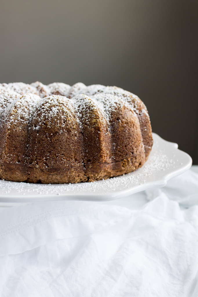 Pumpkin Coffee Cake with cinnamon streusel | passthecookies.com