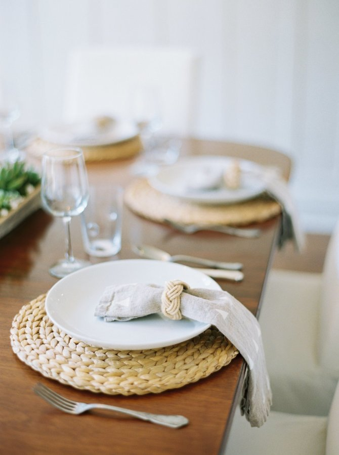 Thanksgiving Table Setting Ideas - Natural Neutrals