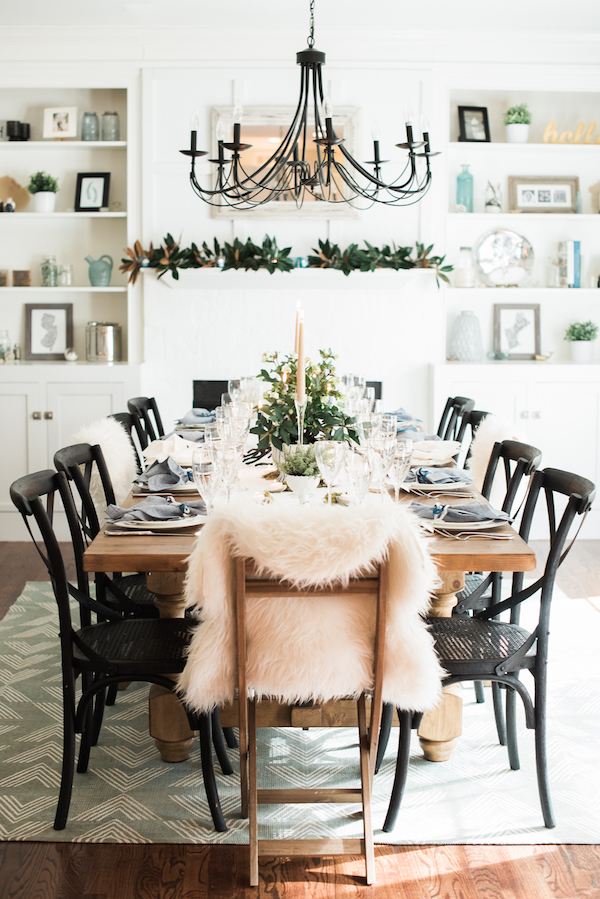 Thanksgiving Table Setting Ideas - Rustic Elegance