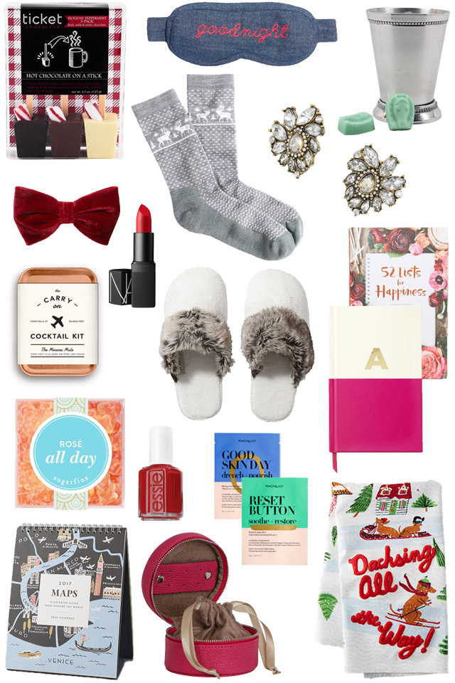 gift guide for stocking stuffers