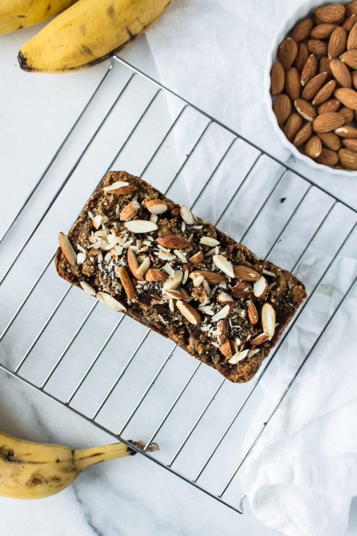 almond banana bread