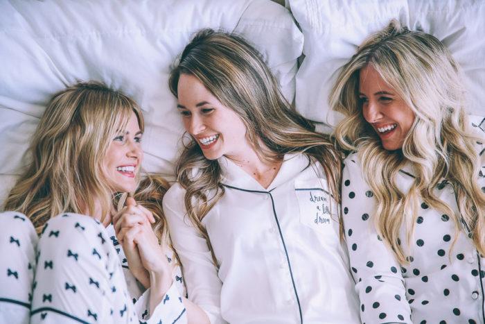 pretty spring pajamas