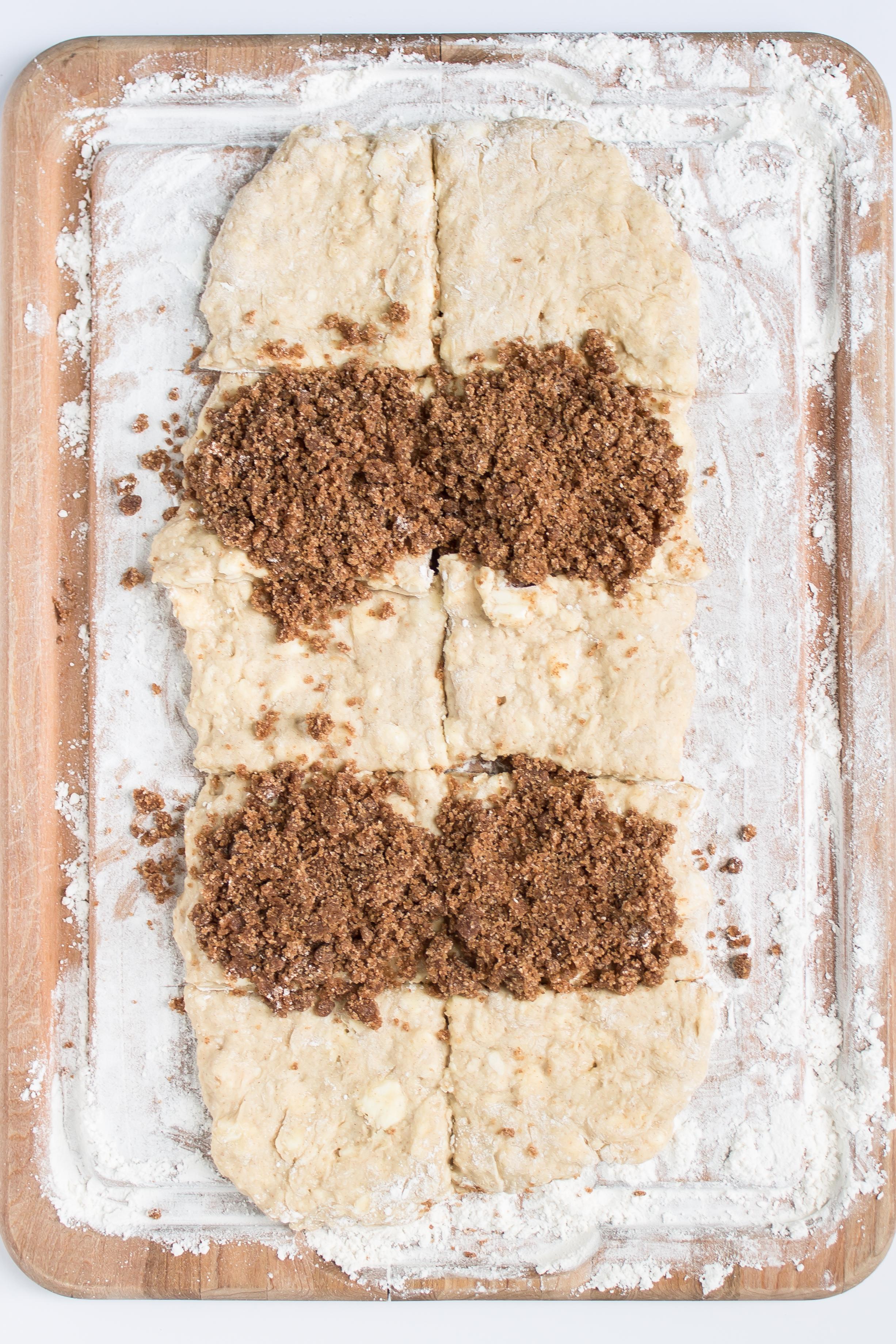 cinnamon swirl scone bread