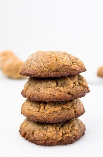 flourless peanut butter cookie ice cream sandwiches