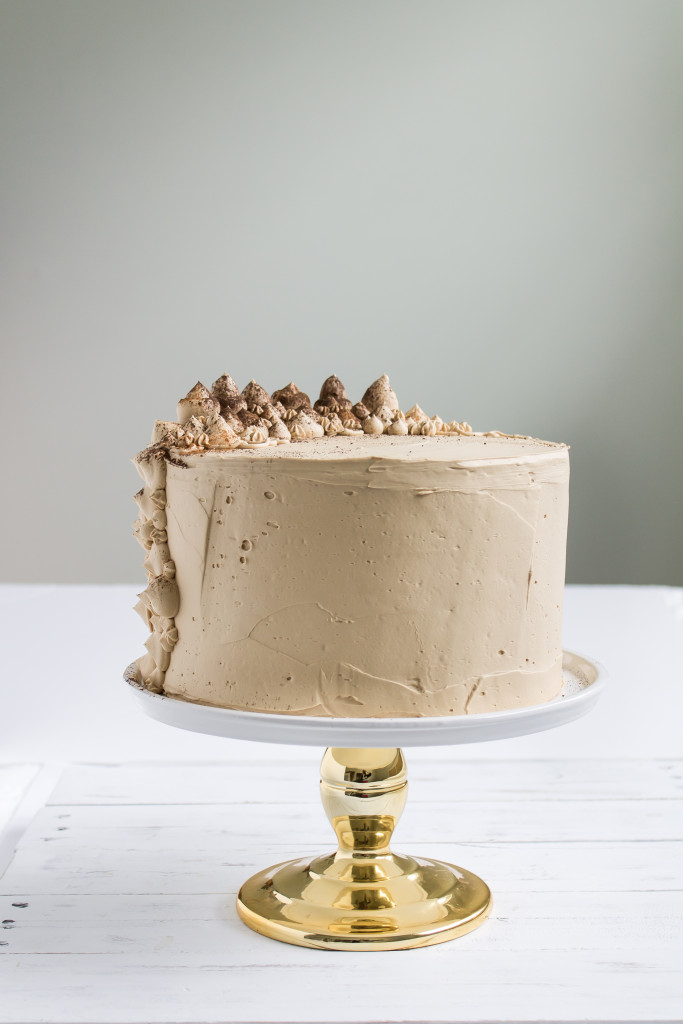 Brown Butter Sweet Potato Cake with Bourbon Molasses Frosting | Pass the Cookies | www.passthecookies.com