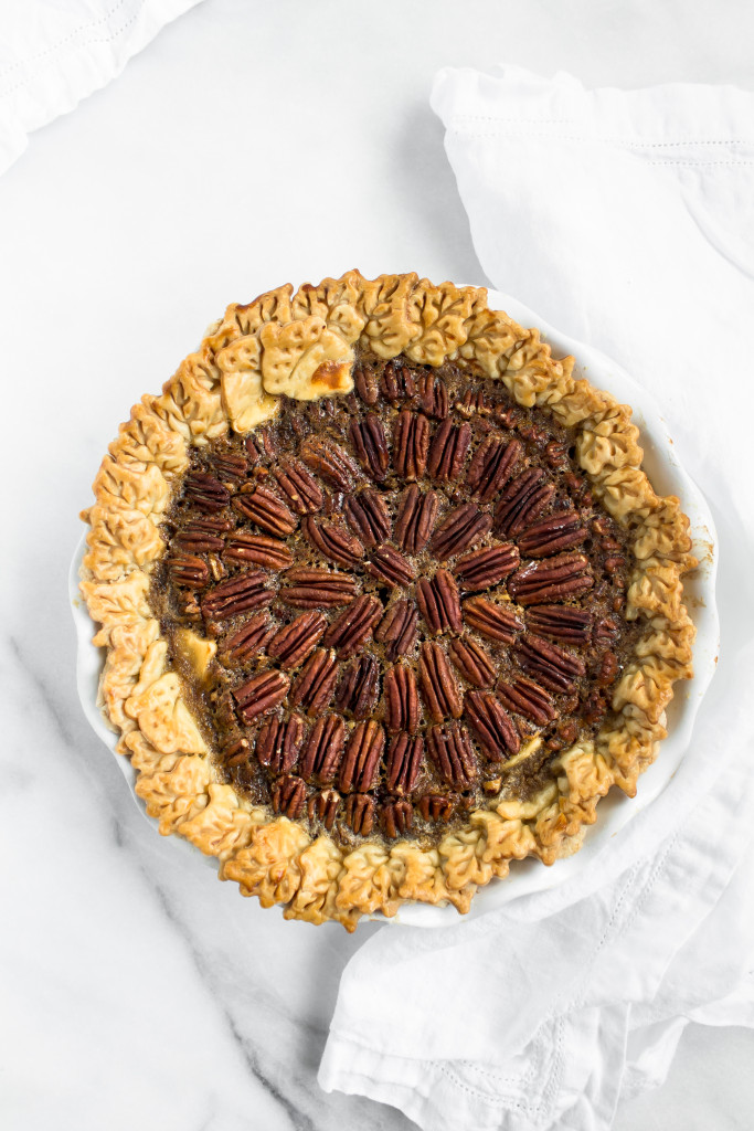 Chocolate Chess Bourbon Pecan Pie | Pass the Cookies | www.passthecookies.com