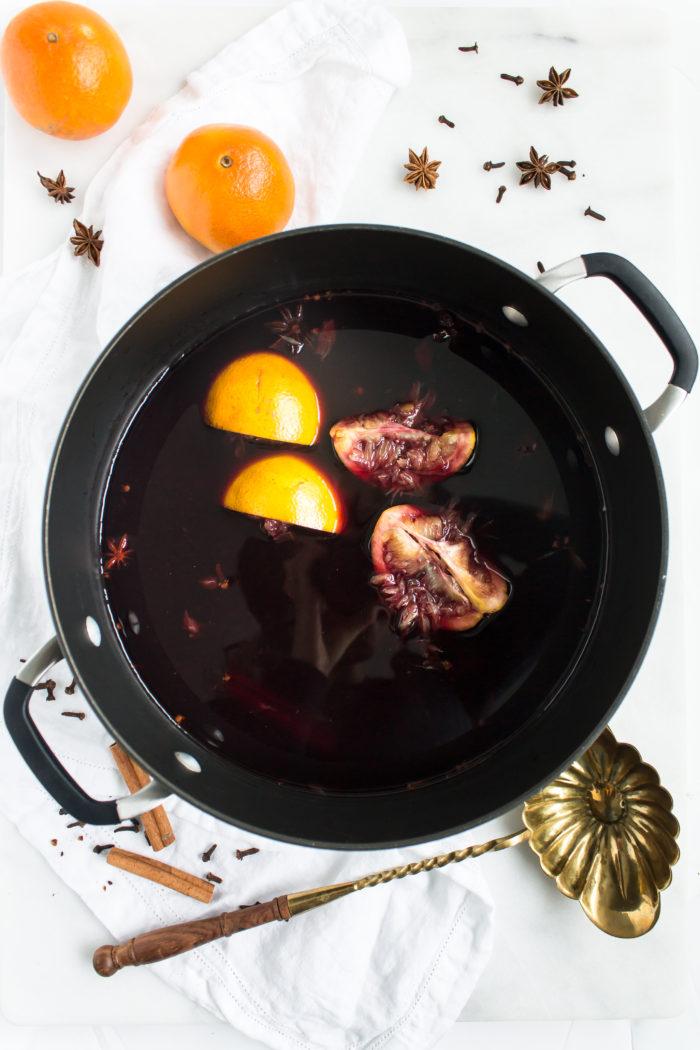 mulled wine (glühwein)