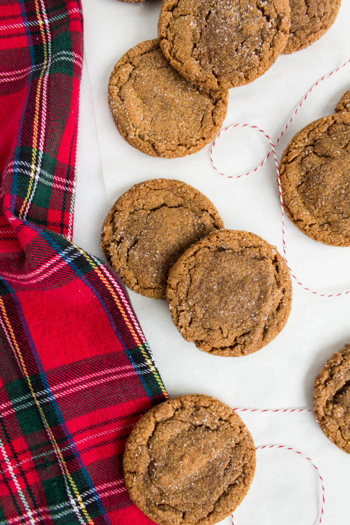 brown butter ginger cookies