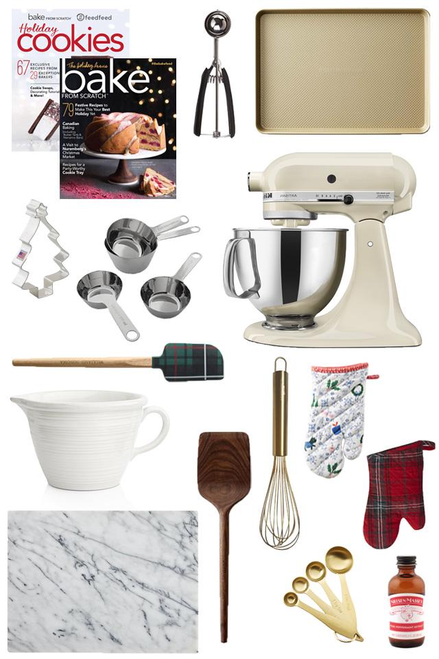 2017 gift guide for the baker
