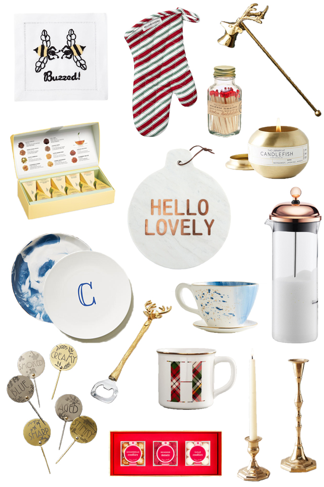 2017 gift guide for the hostess or entertainer