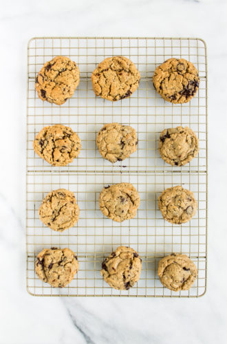 chocolate chip cookie march madness, take two