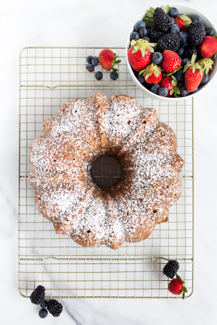 roasted berry coffee cake