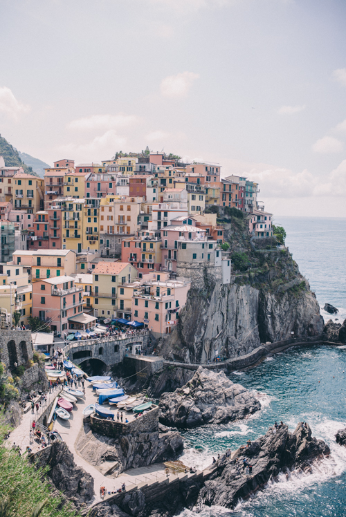 Summer Travel Inspiration - Cinque Terre