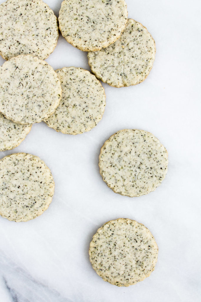 Earl Grey Shortbread Cookies | Pass the Cookies | www.passthecookies.com