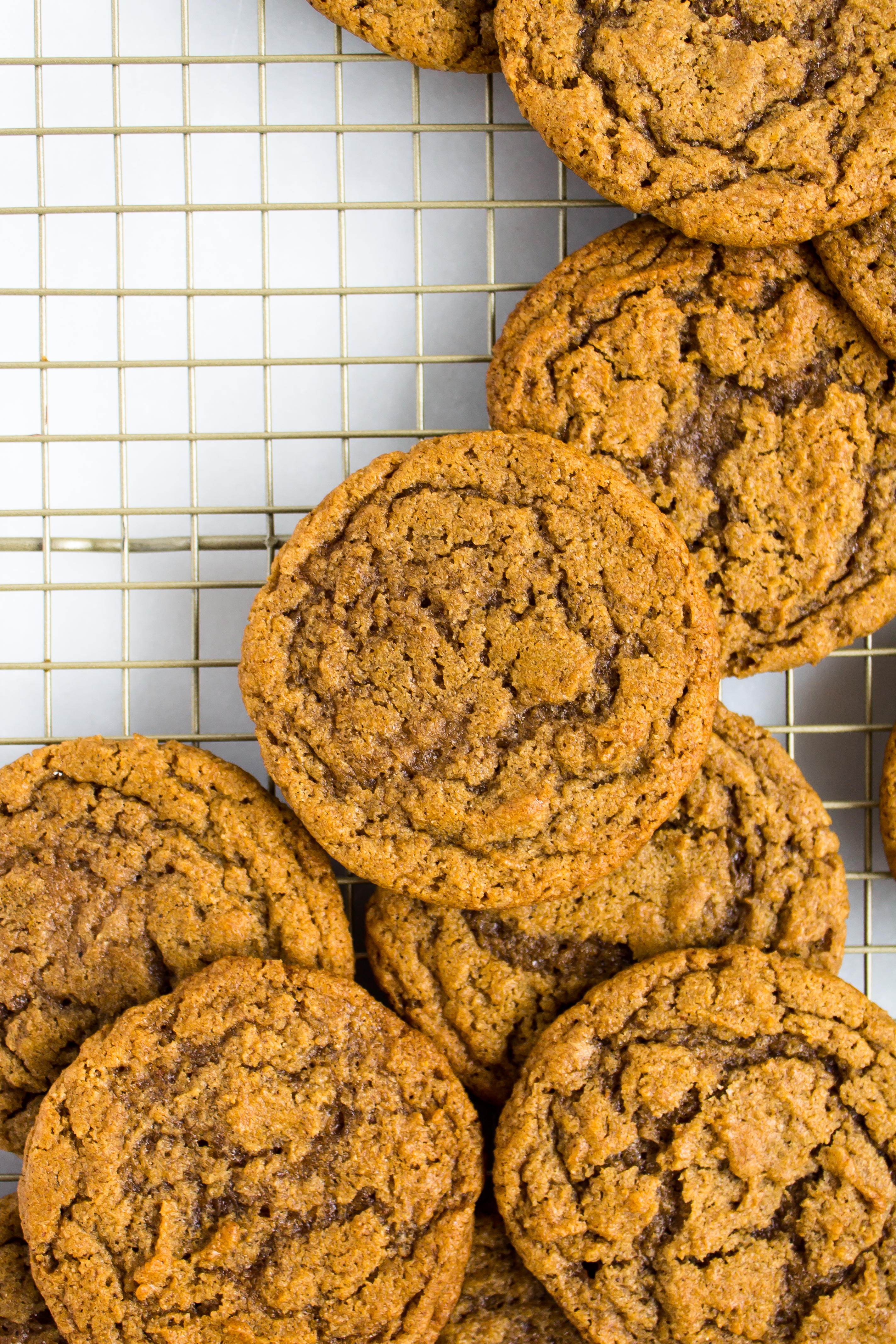 Filled with pumpkin, brown butter, and spices, these chewy pumpkin cookies are the perfect fall treat   Pass the Cookies - Pumpkin Dessert Roundup   www.passthecookies.com