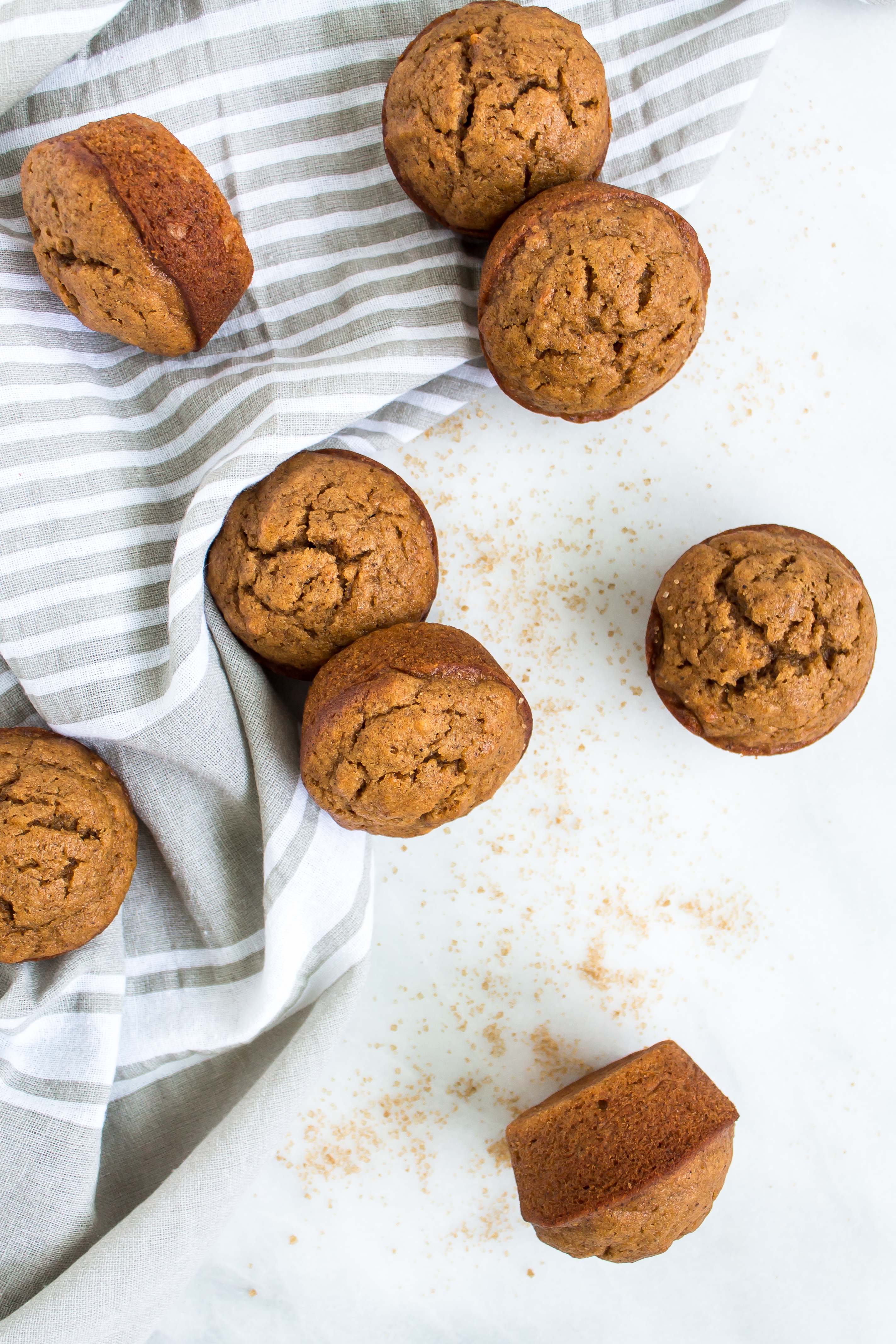 Filled with spices and the perfect crumb, sweet potato chai muffins are the perfect fall breakfast. | www.passthecookies.com