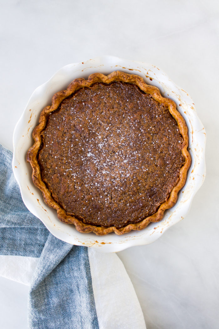 salted maple pie